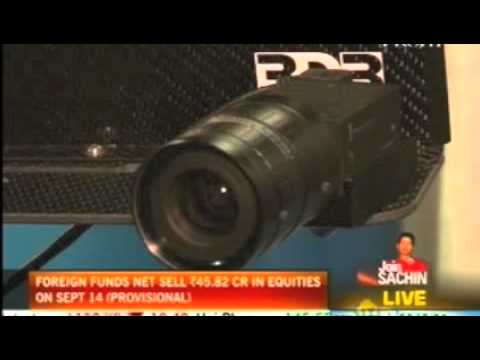 NDTV's Gadget Guru reports on world's smallest HD camera from Canada at SIGGRAPH 2011