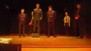 Escena de los generales