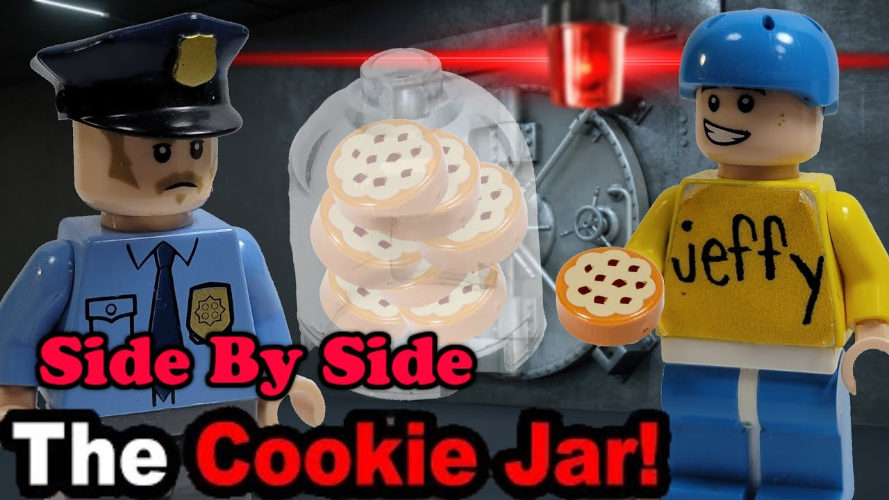 Lego SML: The Cookie Jar! (Side By Side)