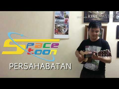 LAGU SPACETOON - PERSAHABATAN (Cover With Abiel Filetus) Acoustic Version