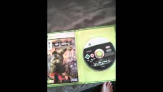 The incredible hulk official video game (2008) x box 360 version