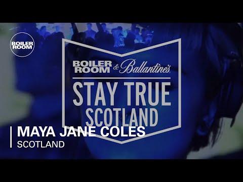 Maya Jane Coles Boiler Room & Ballantine's Stay True Scotland DJ Set