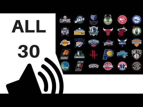 ALL 30 NBA TEAMS PORTRAYED BY SOUND EFFECTS!!!