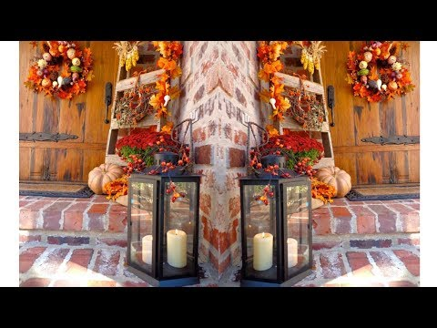 2017 Outside Thanksgiving Decorations 4