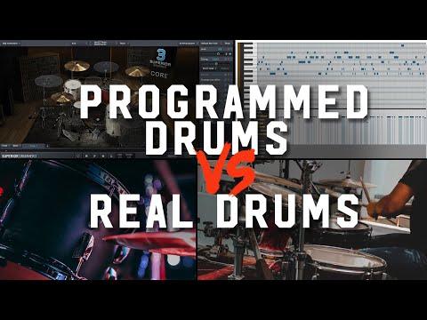 Programmed Drums vs