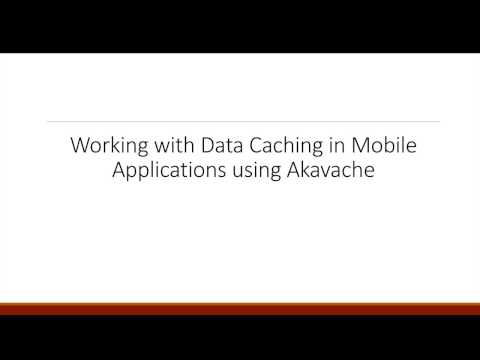 Working with Cache Management using Akavache