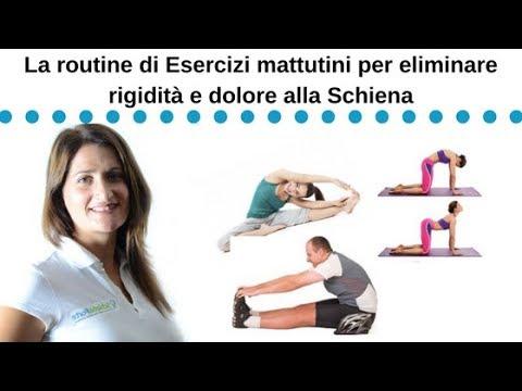 Routine di esercizi mattutini pe il mal di schiena youtube - Mal di schiena a letto ...