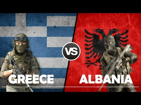 GREECE VS ALBANIA - Miltary Power Comparison 2017