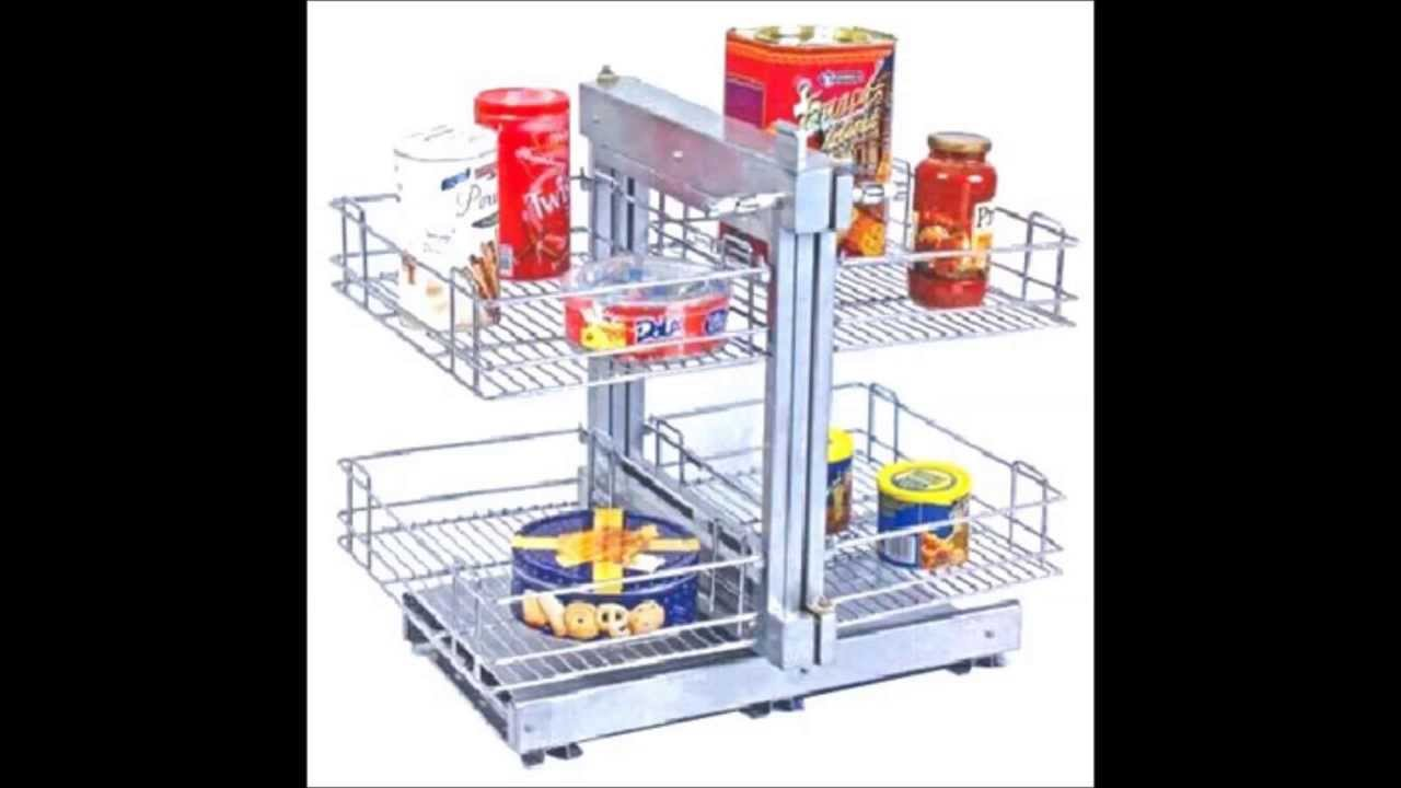 Sonia - Magic & Carousel corner unit Kitchen Basket and Accessories ...