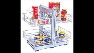 Sonia - Magic & Carousel corner unit Kitchen Basket and Accessories Manufacturer India