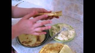Кыстыбый с картофелем