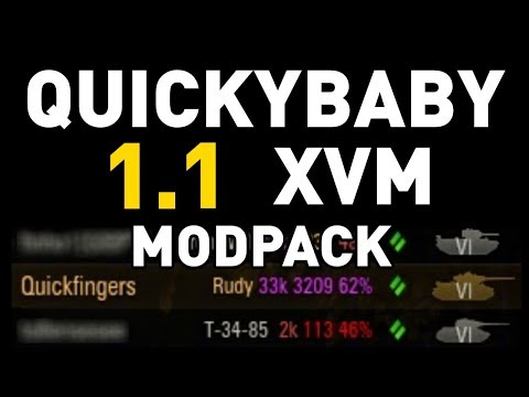 XVM Mod Pack by QuickyBaby for 1.1 v2