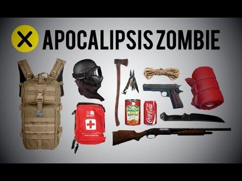 10 Cosas necesarias para un Apocalipsis Zombie