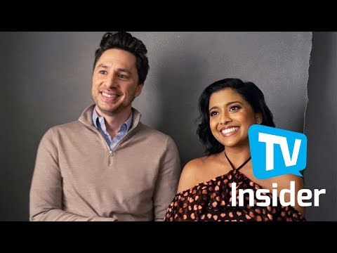 Zach Braff & Tiya Sircar on Their New Comedy 'Alex, Inc.'  TV Insider