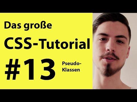 Pseudoklassen Für Links CSS Tutorial | CSS Lernen Für Anfänger