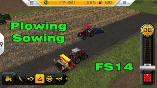 Fs14 Farming Simulator 14 - Plowing and Sowing #6 screenshot 4