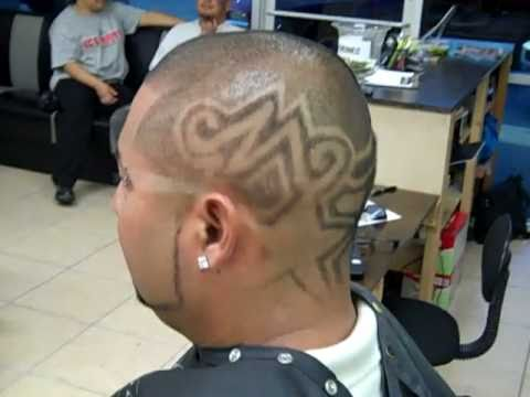 hair cut design flawless barber