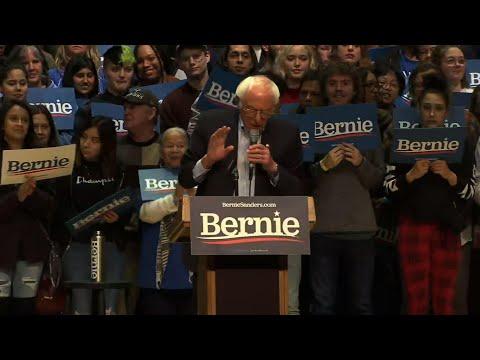 Sanders focuses on NC ahead of Super Tuesday