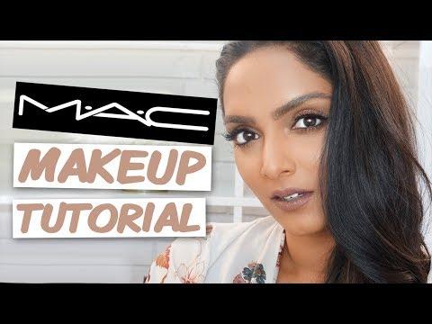 FULL FACE Makeup Look W/ MAC COSMETICS | Deepica Mutyala