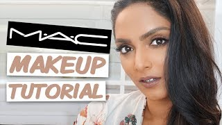 MAC COSMETICS MAKEUP TUTORIAL | Deepica Mutyala