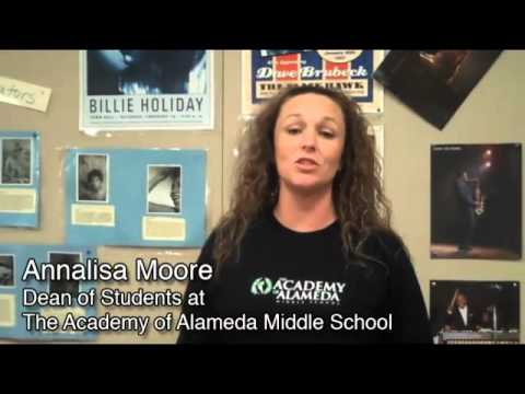 Annalisa Moore Dean of Students at The Academy of Alameda Middle School