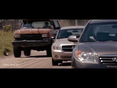 1955 Ford Car Chase Scenes (The Expendables - 2010)