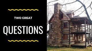 TWO GREAT OWNER-BUILDER QUESTIONS!... Handmade House TV #111