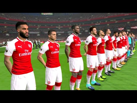 Arsenal vs FC Köln Europa League 14/09/2017 Gameplay