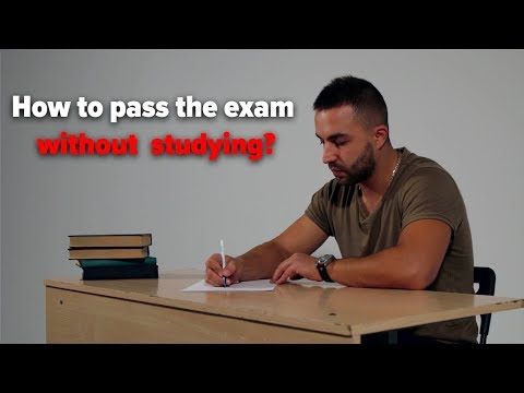 How To Pass The Exam Without Studying? SPY EARPIECE
