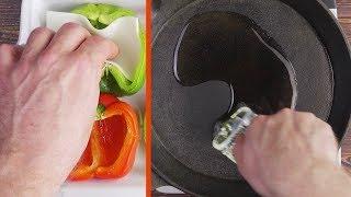 DAMIT hast du Paprika garantiert noch nicht gefüllt. Dabei ist die Kombination genial!