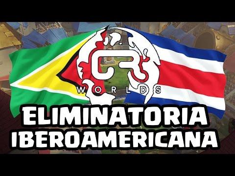 ELIMINATORIAS CRWorlds: Guyana vs Costa Rica - KManuS88 - Clash Royale
