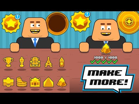 make more all trophy all robots level 1000 gameplay youtube