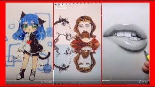 DRAWING ART ANIME FUNNY - ティックトック イラスト - ック絵 (P5)