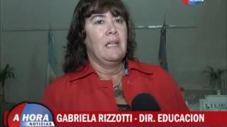GABRIELA RIZOTTI   DIR  EDUCACION   ACTIVIDADES Y PROYECTOS DEL AREA