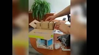 Мини-кондиционер 4в1 Rovus Арктика – охладитель воздуха: распаковка