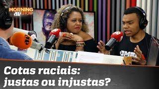 Cotas raciais: justas ou injustas? Adriana Moreira e Fernando Holiday debatem sobre o tema