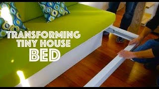 Tiny House Transforming Bed For $100