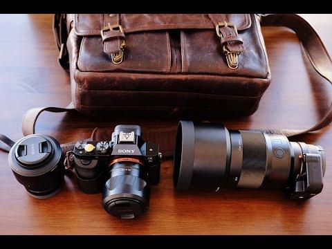 Bolsa Ona The Prince Street e Sony a7s com as lentes 28, 55 e 135mm
