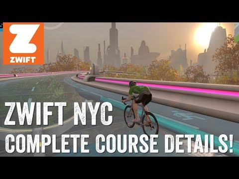 Hands-on: Zwift's New York City Course is Now Available | DC Rainmaker
