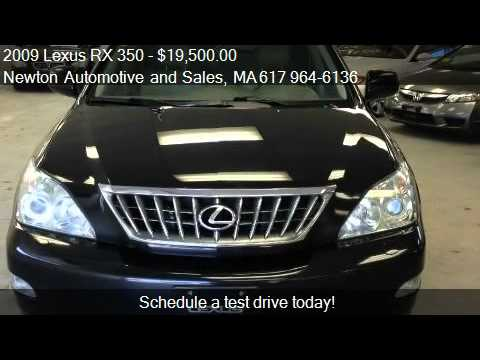 2009 lexus rx 350 pebble beach edition for sale in newton m youtube. Black Bedroom Furniture Sets. Home Design Ideas