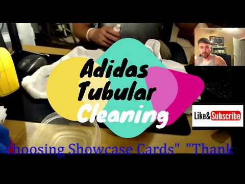Adidas Tubular Shoe cleaning