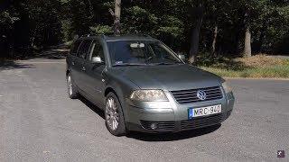Ez nem a faterod dízel Passatja - Totalcar teszt: Volkswagen Passat W8 - 2001.