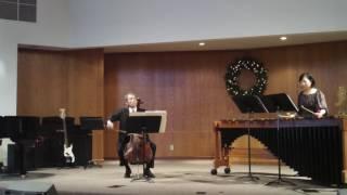 Cello and Marimba benefit recital Part A
