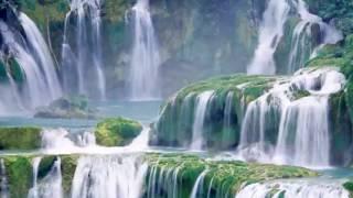 Водопад.Красивая музыка.Звуки природы.