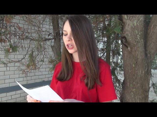 Данилевич Анастасия читает произведение «Бледнеет ночь... Туманов пелена...» (Бунин Иван Алексеевич)