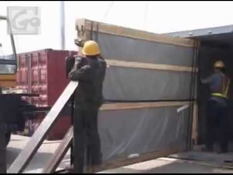 Glass loading video---Shenzhen Sun Global Glass