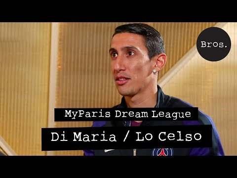 MyParis Dream League : Angel Di Maria/Giovani Lo Celso