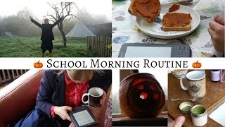 School Morning Routine || Productive & Autumnal