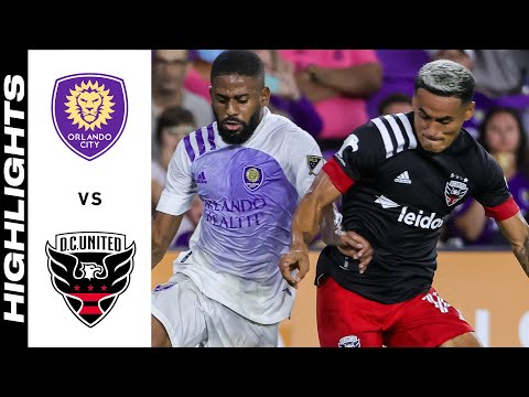 Orlando City DC United Goals And Highlights