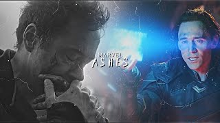 ✥ Marvel | Ashes {ENDGAME SPOILERS!!}